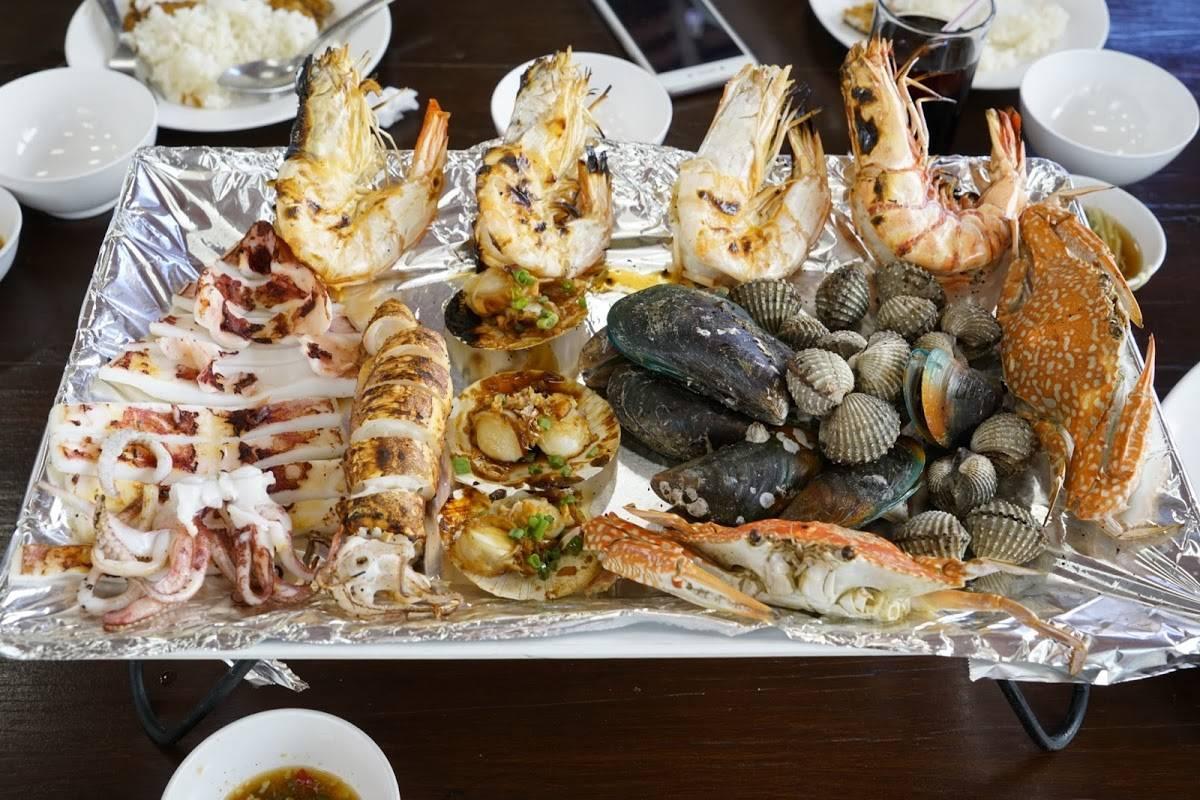Где поесть морепродукты в Паттайе