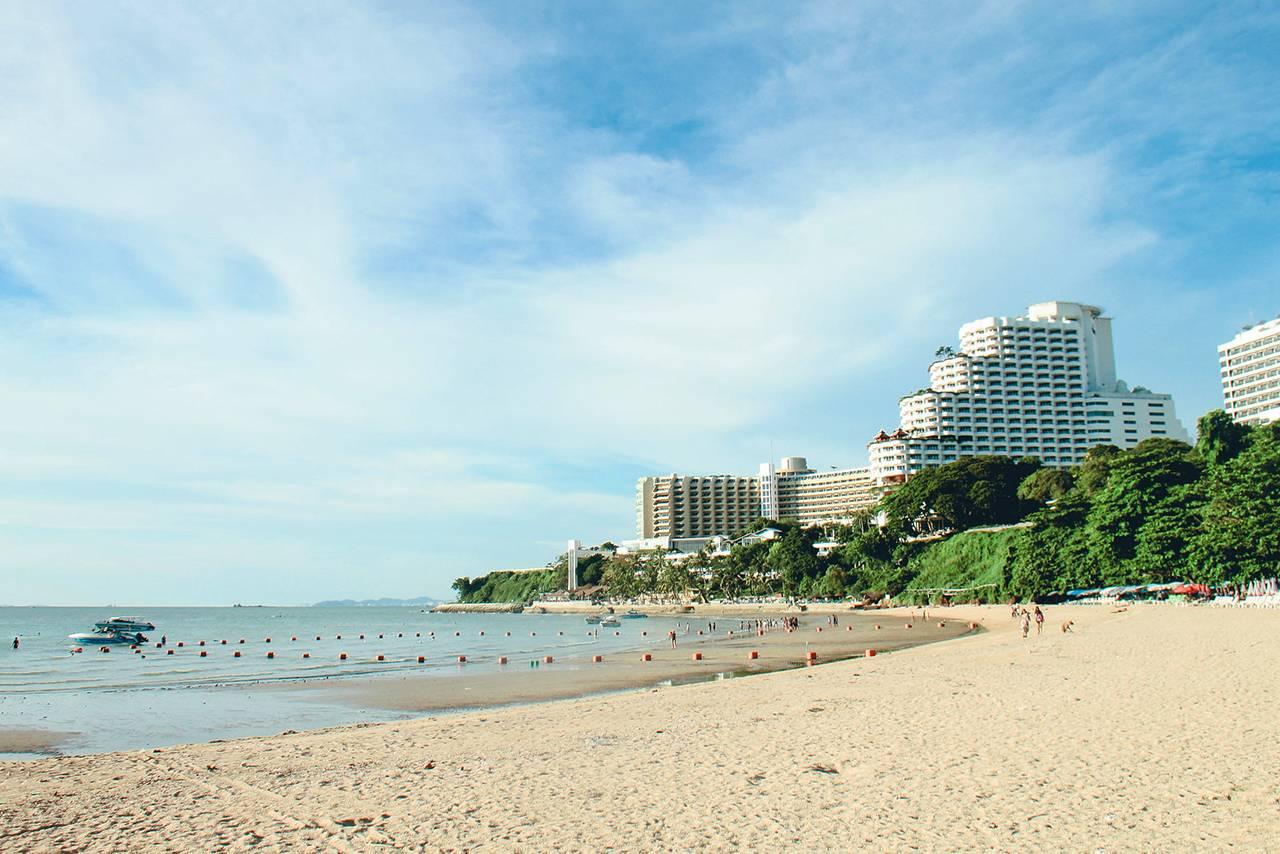 Самые чистые пляжи Паттайи