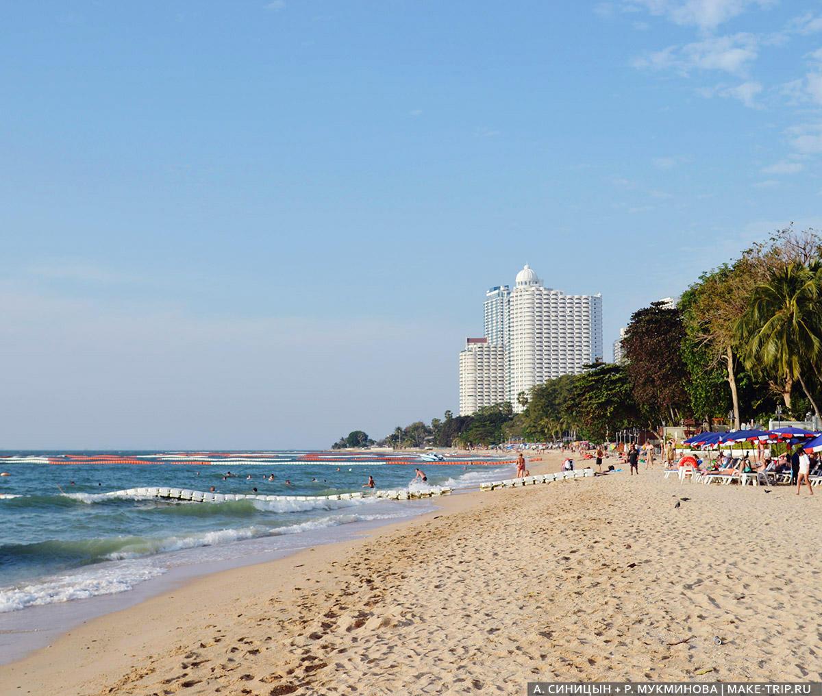 Где в Паттайе лучшие пляжи