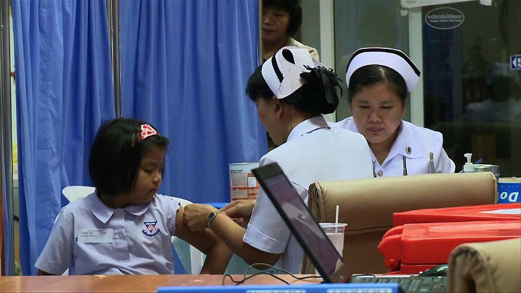 Какие прививки ставить детям в Таиланд