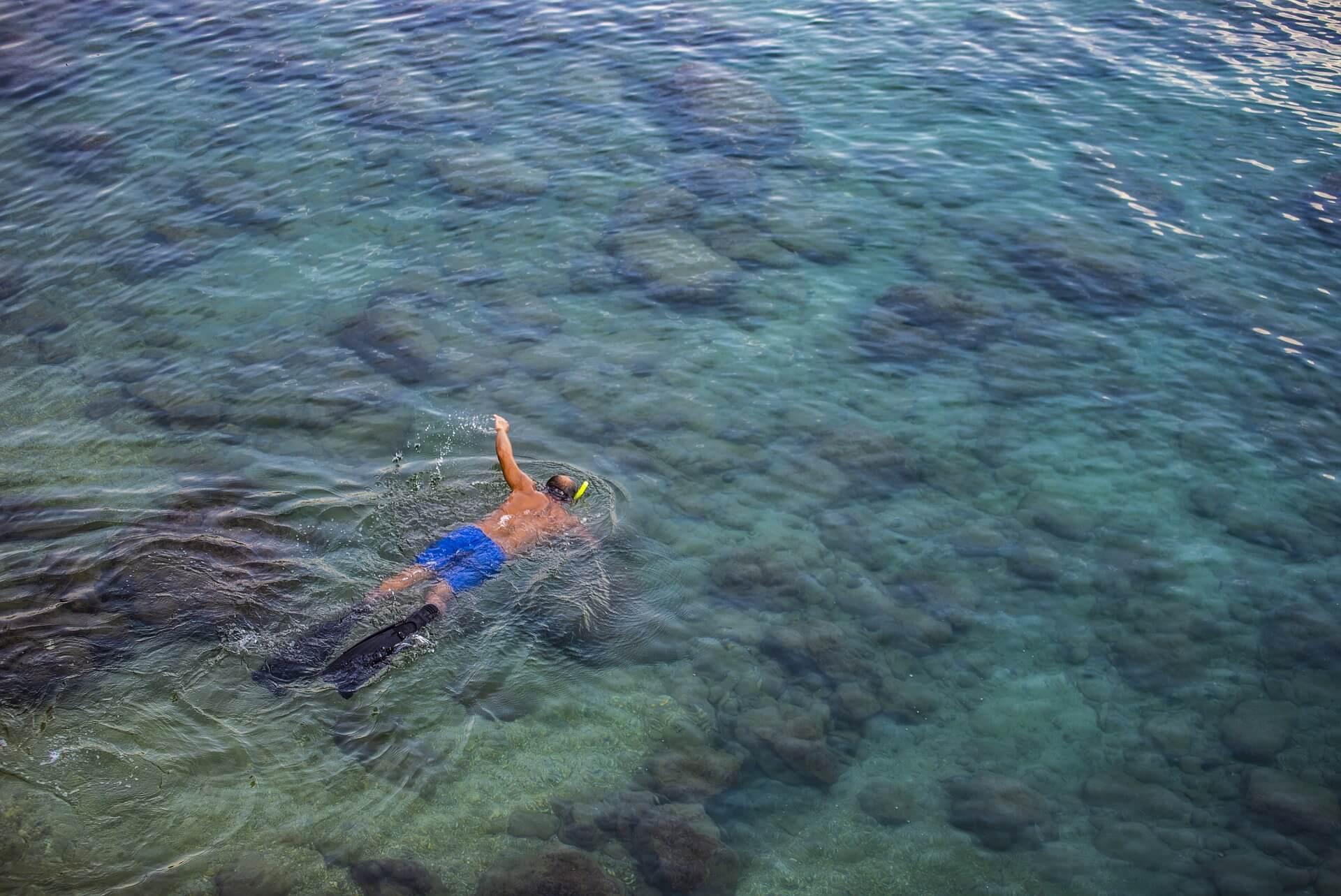 Один из известных пляжей в Алании