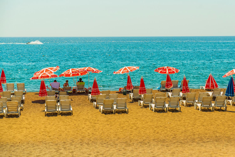Фото и описание пляжа в Анталии