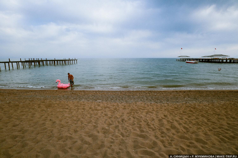 Пляж в Анталье