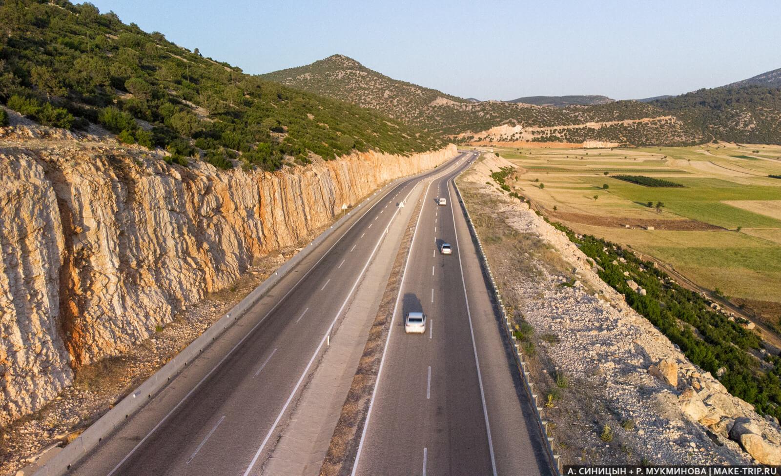 Шикарные турецкие дороги