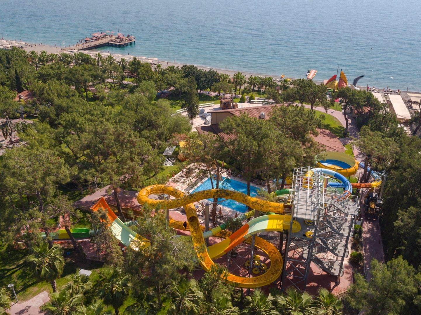 Недорогие отели в Турции с аквапарком