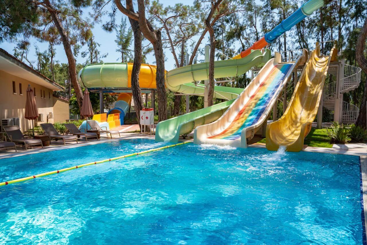 Какие отели в Турции с аквапарком