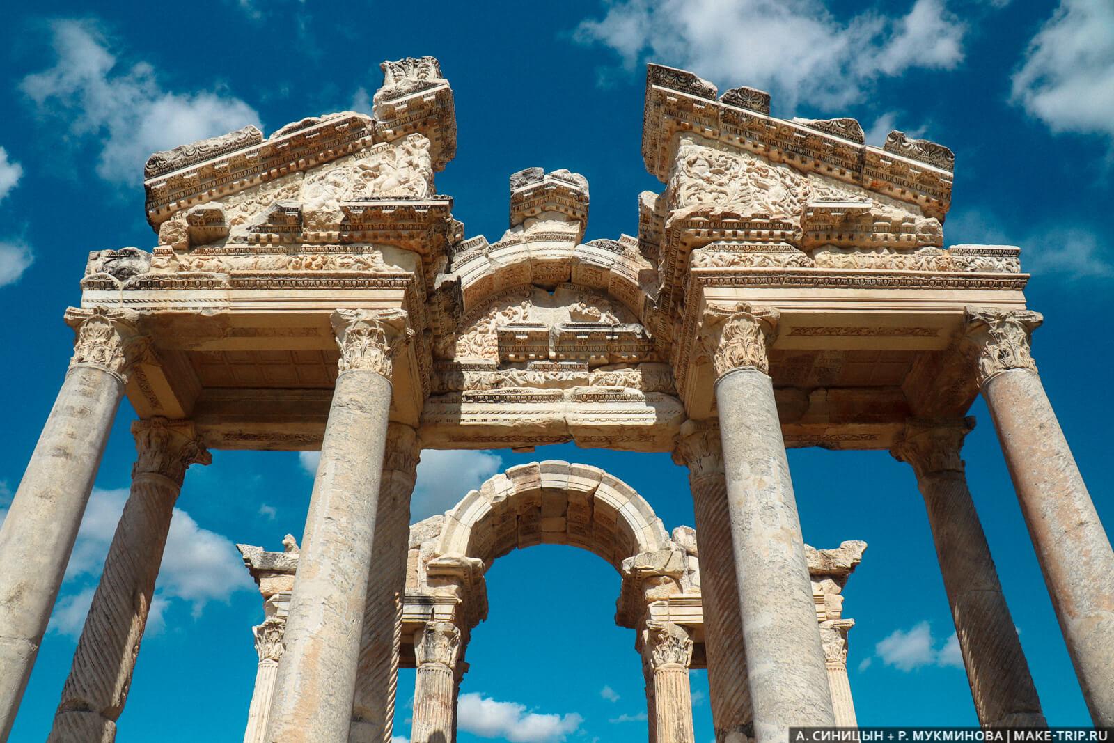 Античный город в Турции