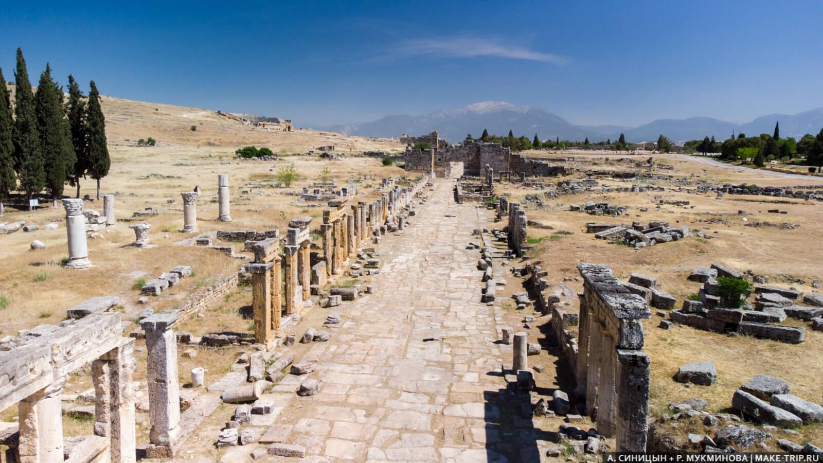 Античные руины в Турции