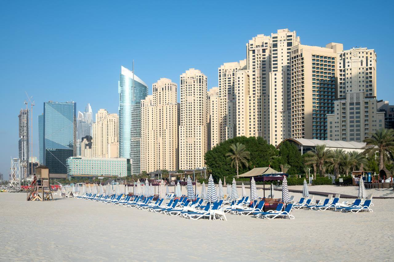 Отели Дубая со своим пляжем