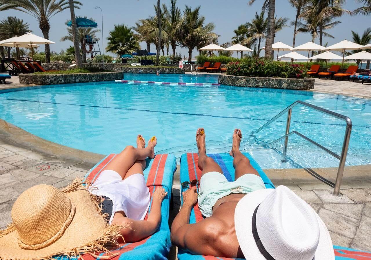 Отели с пляжем в Дубае