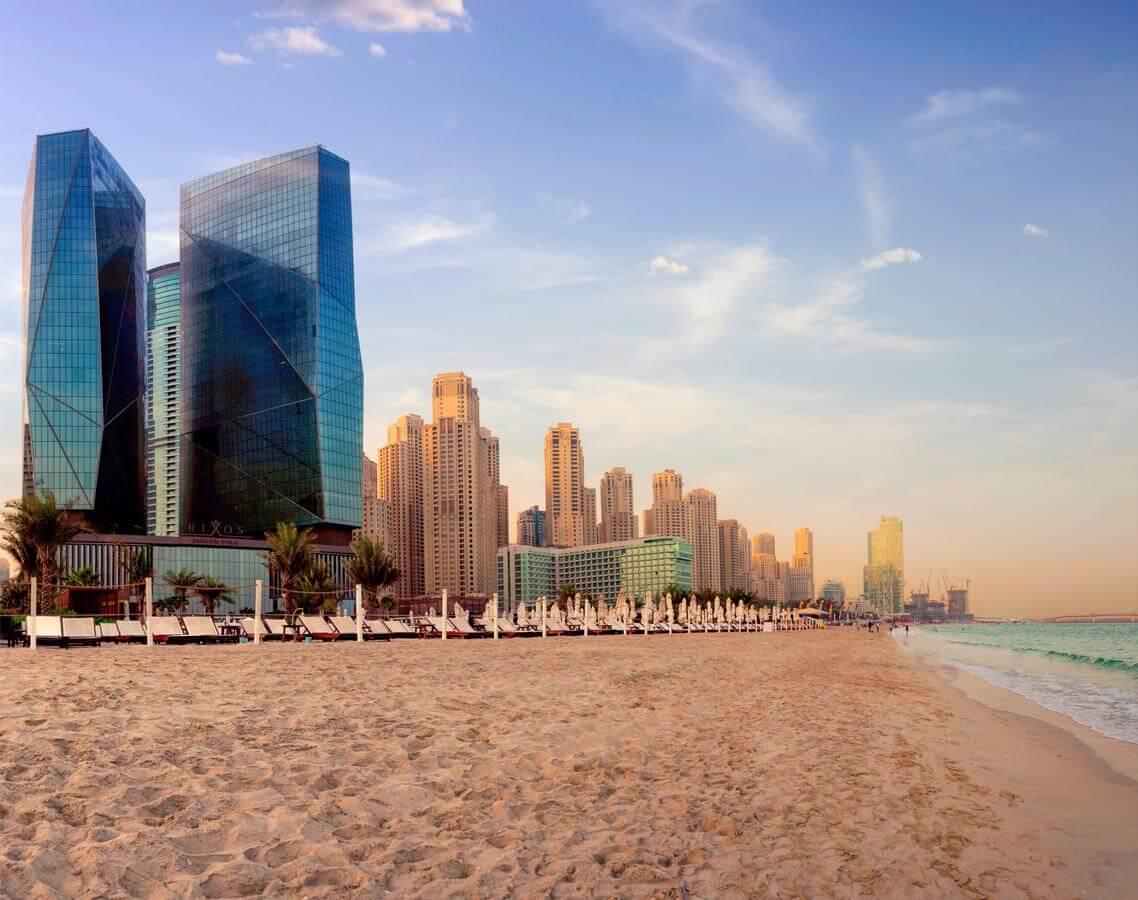 Отели Дубая с пляжем