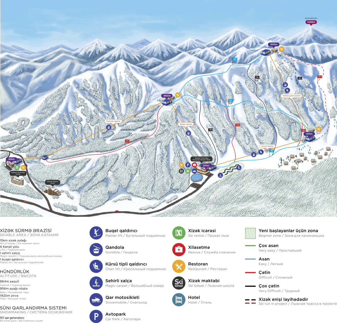Недорогие горнолыжные курорты Азербайджана
