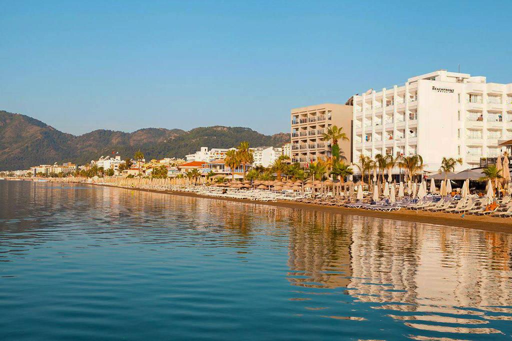 Отель всё включено с собственным пляжем, Мармарис