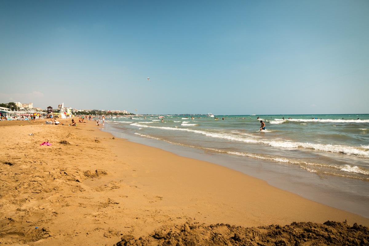 Лучший песчаный пляж в Сиде и в Турции