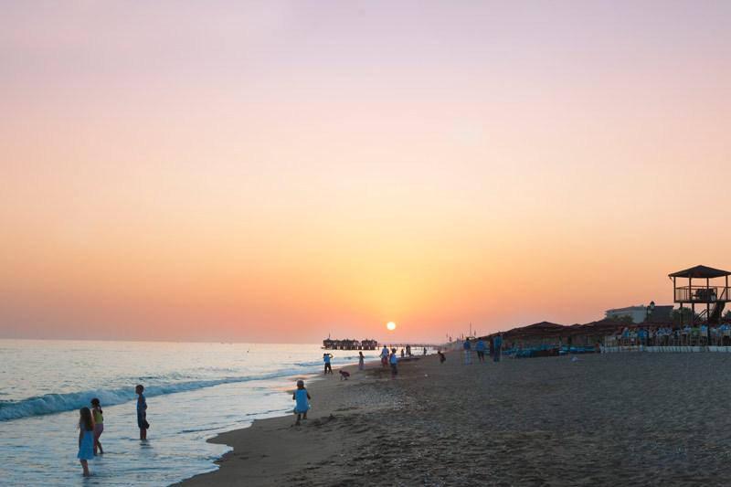 Пляж в Сиде с хорошими отзывами
