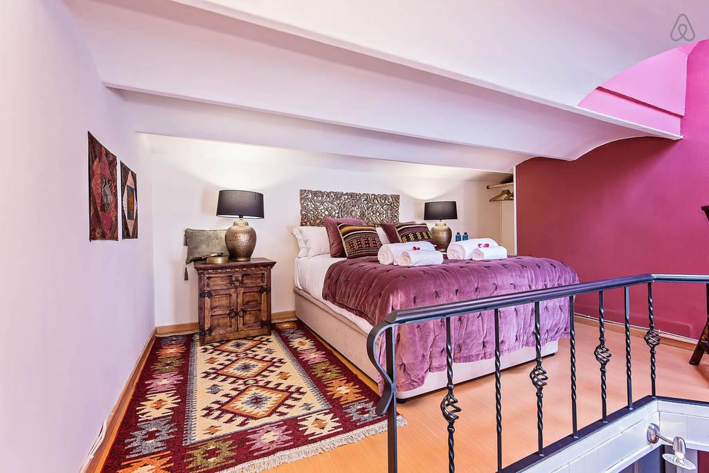Квартира с этническими мотивами в Барселоне