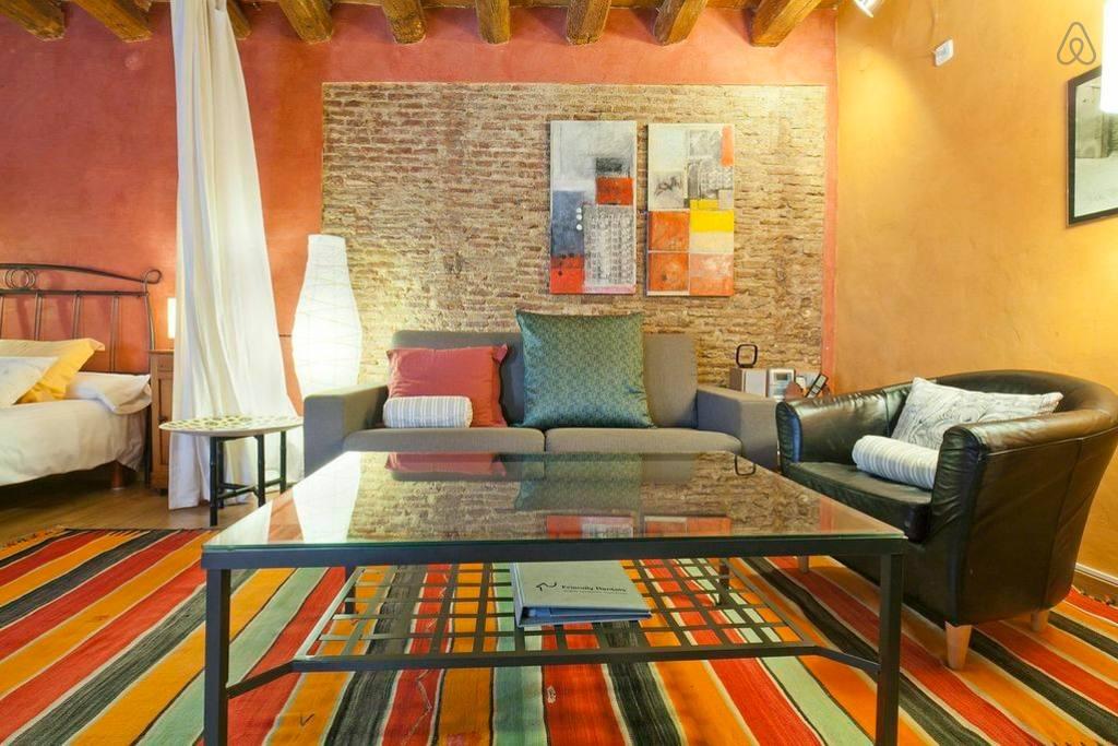 Яркие апартаменты в Барселоне