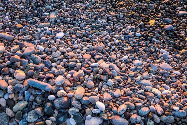 Галечный пляж в Батуми