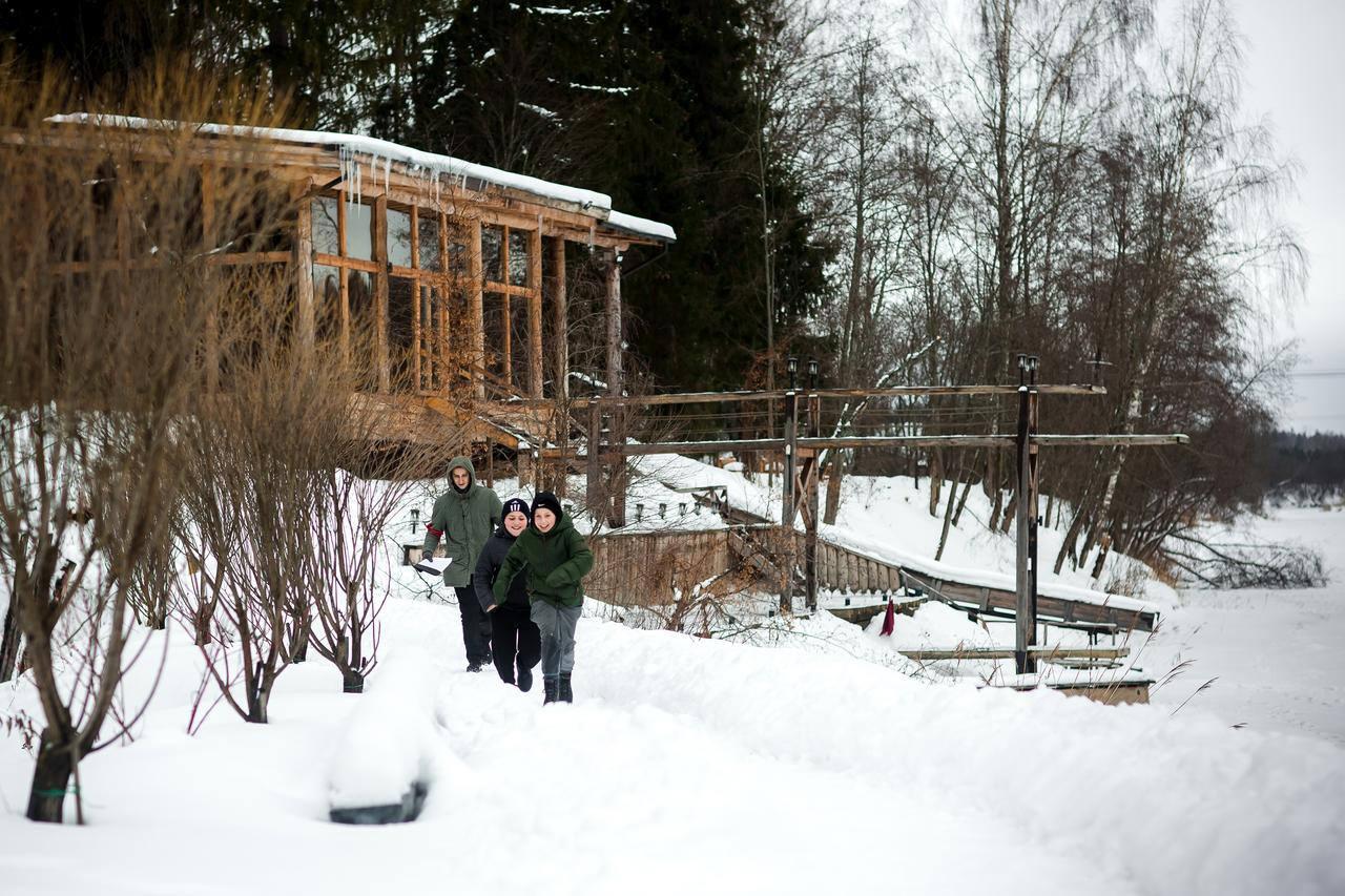 Отдых с детьми в Подмосковье зимой