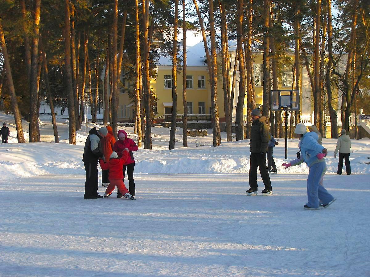 Недорогой отдых зимой в Подмосковье