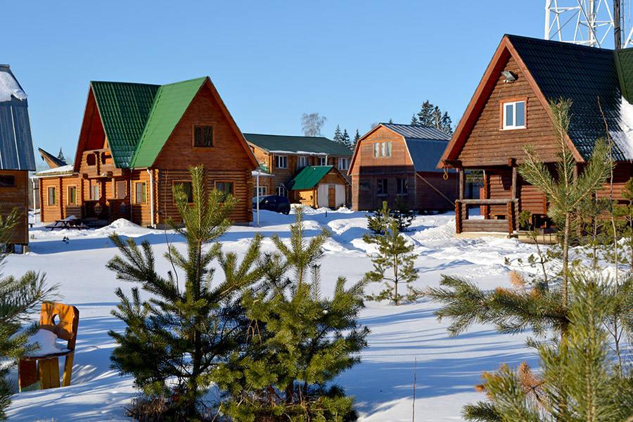 Базы отдыха на праздники в Подмосковье зимой