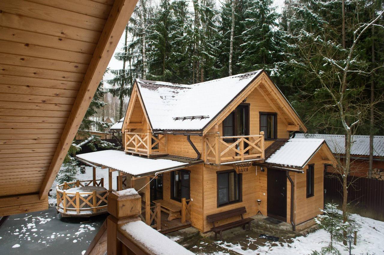 Дом отдыха зимой в Подмосковье