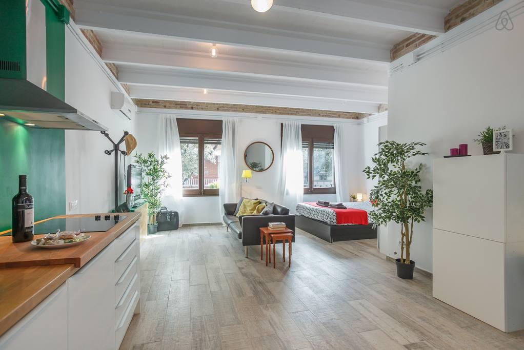 Где снять квартиру туристу в Барселоне