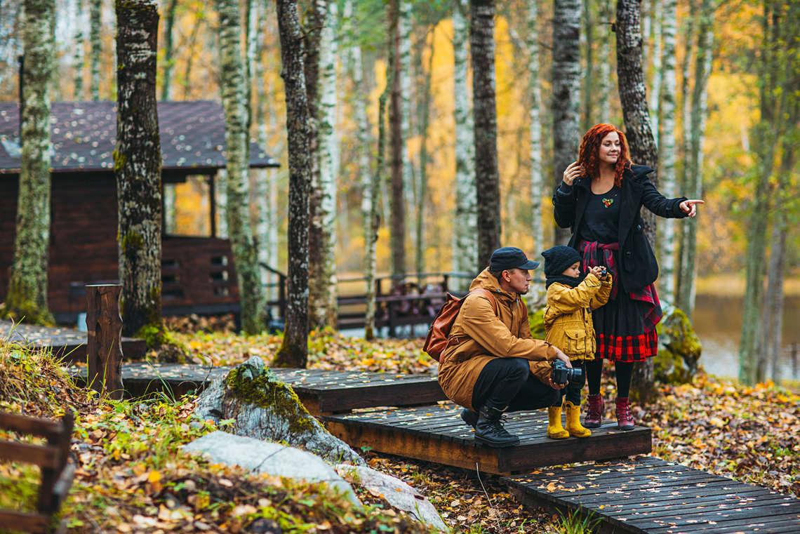 База отдыха в Карелии у озера