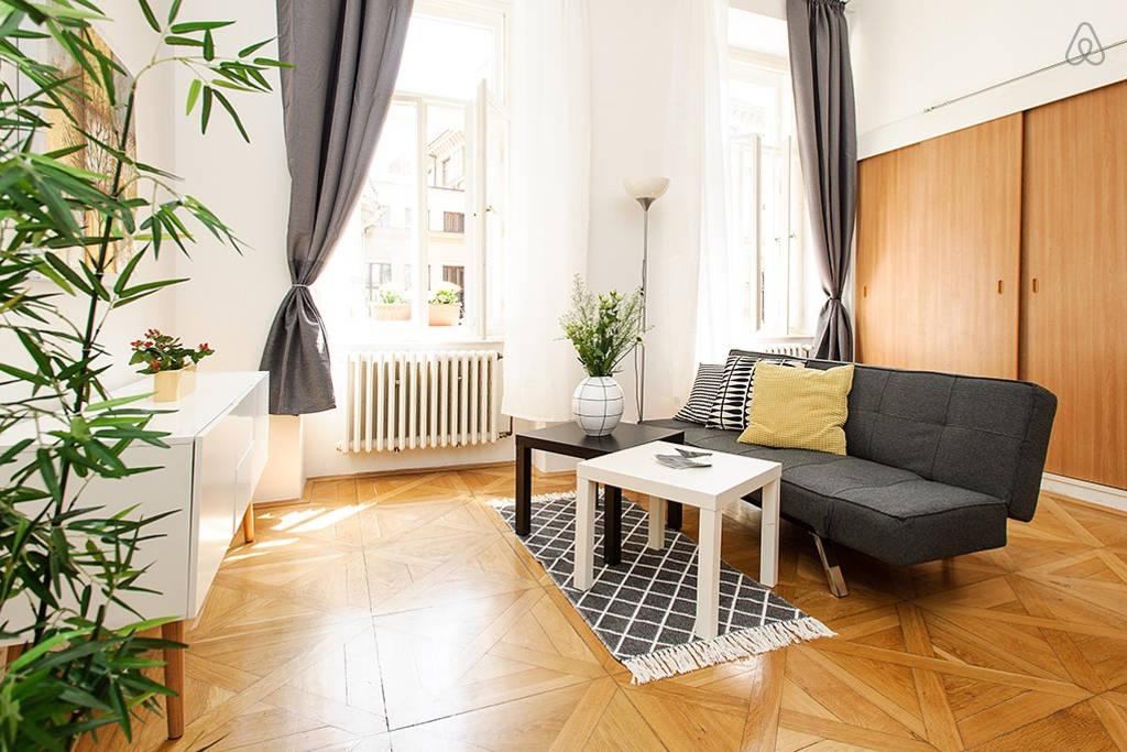 недорогие квартиры на сутки в центре Праги